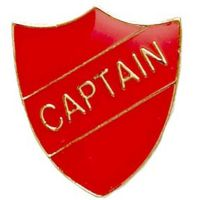 ShieldBadge Captain Red</br>SB019R